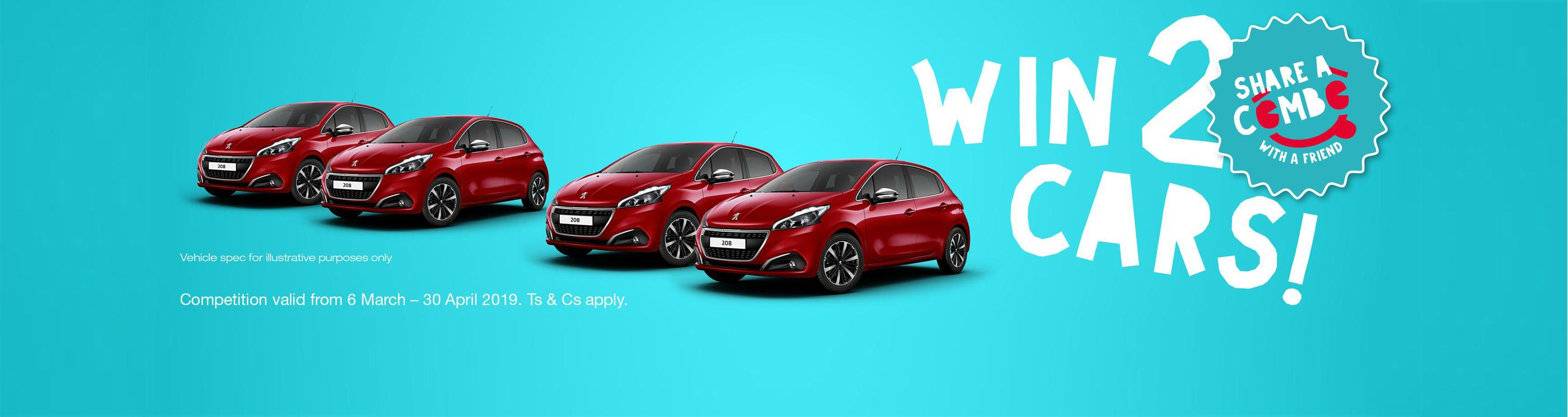 Win 2 cars | Total South Africa